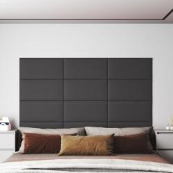 vidaXL Mesa alta de cocina de MDF y 2 patas de acero blanco con brillo