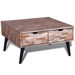 vidaXL Sillón sofá con asiento acolchado de color crema