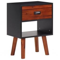 vidaXL Mesa de centro con superficie con impresión de arcoiris