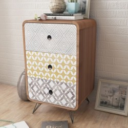 2 manteles blancos de 70 cm con lazo