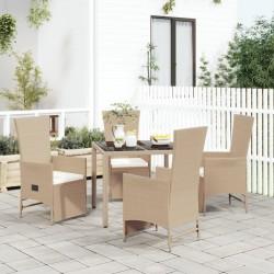 vidaXL Felpudo alfombra de entrada PVC negro 90x120 cm
