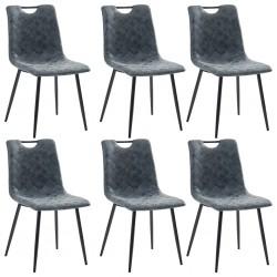 vidaXL Funda elástica para mesa 2 unidades 60 cm gris antracita