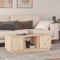 vidaXL Mesa de centro vintage de madera reciclada y patas de hierro