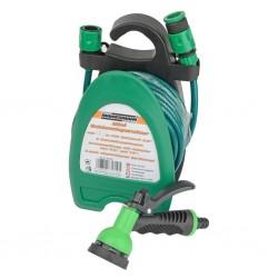 vidaXL Sillón plegable de cuero sintético negro