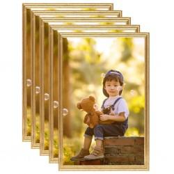 vidaXL Mesa alta de madera blanca