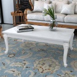 vidaXL Mesita redonda de madera de teca reciclada