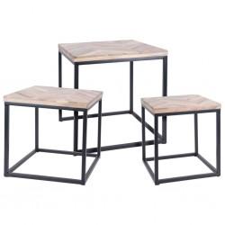 vidaXL Sillón reclinable con 2 plazas de cuero artificial blanco