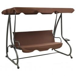 vidaXL Sillón reclinable de 2 plazas de cuero artificial negro