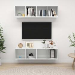 Lámpara de pie ajustable de madera tipo trípode con pantalla negra