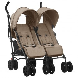 vidaXL Trona de bebé azul y...