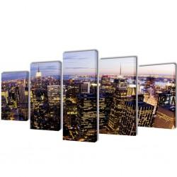 vidaXL Sofá de 2 plazas de cuero artificial blanco