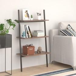 vidaXL Sillón de masaje de cuero sintético blanco