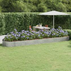 vidaXL Fundas de cojines 4 uds apariencia de lino rosa 80x80 cm