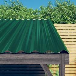 vidaXL Fundas de cojines 4 uds apariencia de lino terracota 50x50 cm