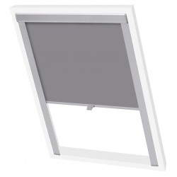 vidaXL Manta de picnic gris y negra 100x150 cm